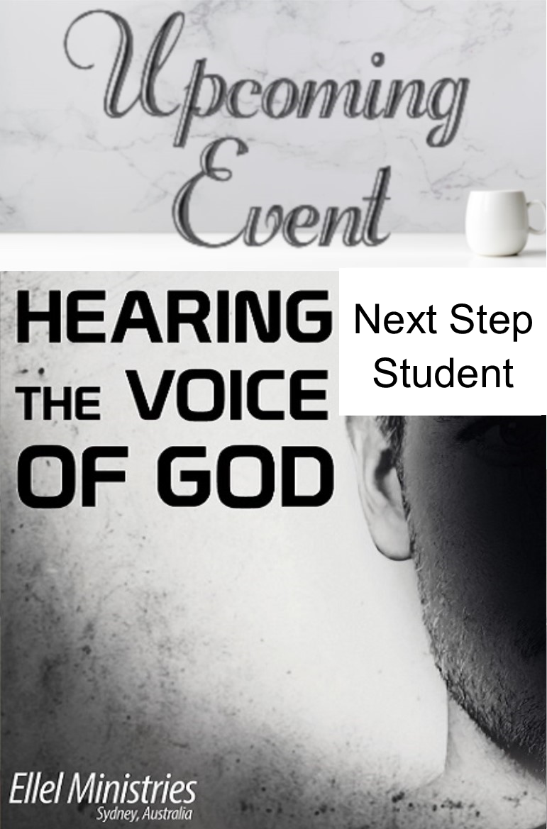 2020 Hearing Voice of God (Next Step Student)