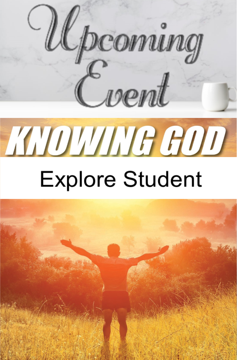 2020 Knowing God (Explore A Student)