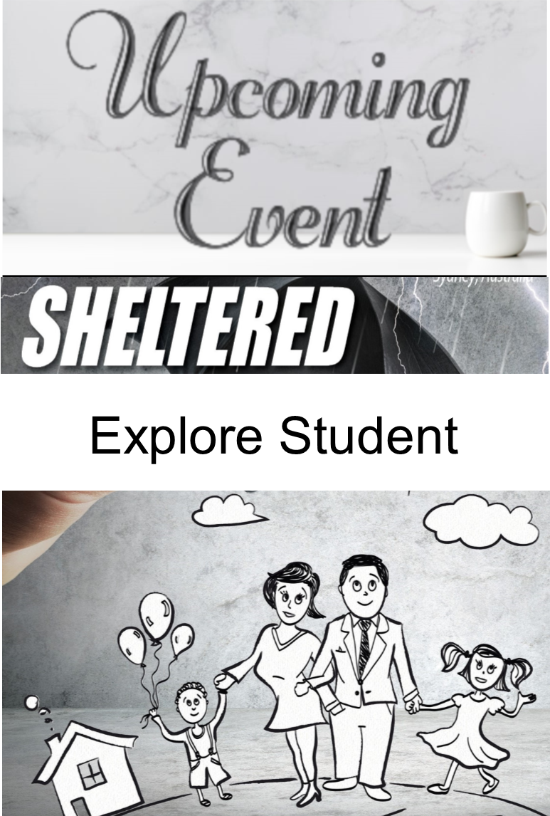 2020 Sheltered (Explore A Student)