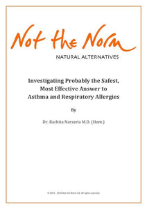 Investigating Probably the Safest Most Effective Answer to Asthma and Repiratory Allergies - pdf