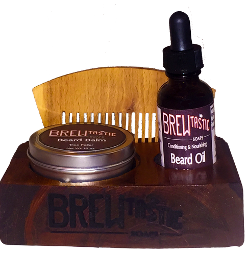 Beard Care Kit & Mount