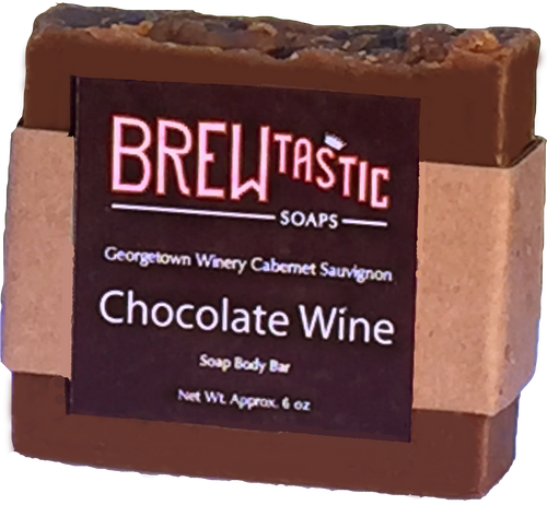 Chocolate Wine Soap