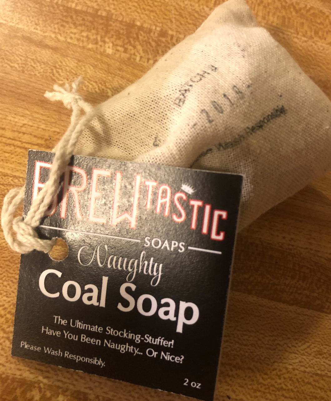 Naughty Coal Soap