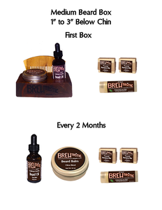 The Medium Beards' Box (every 2 mos)