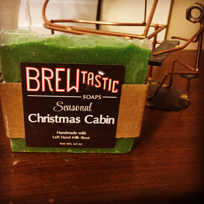 Christmas Cabin Beer Soap