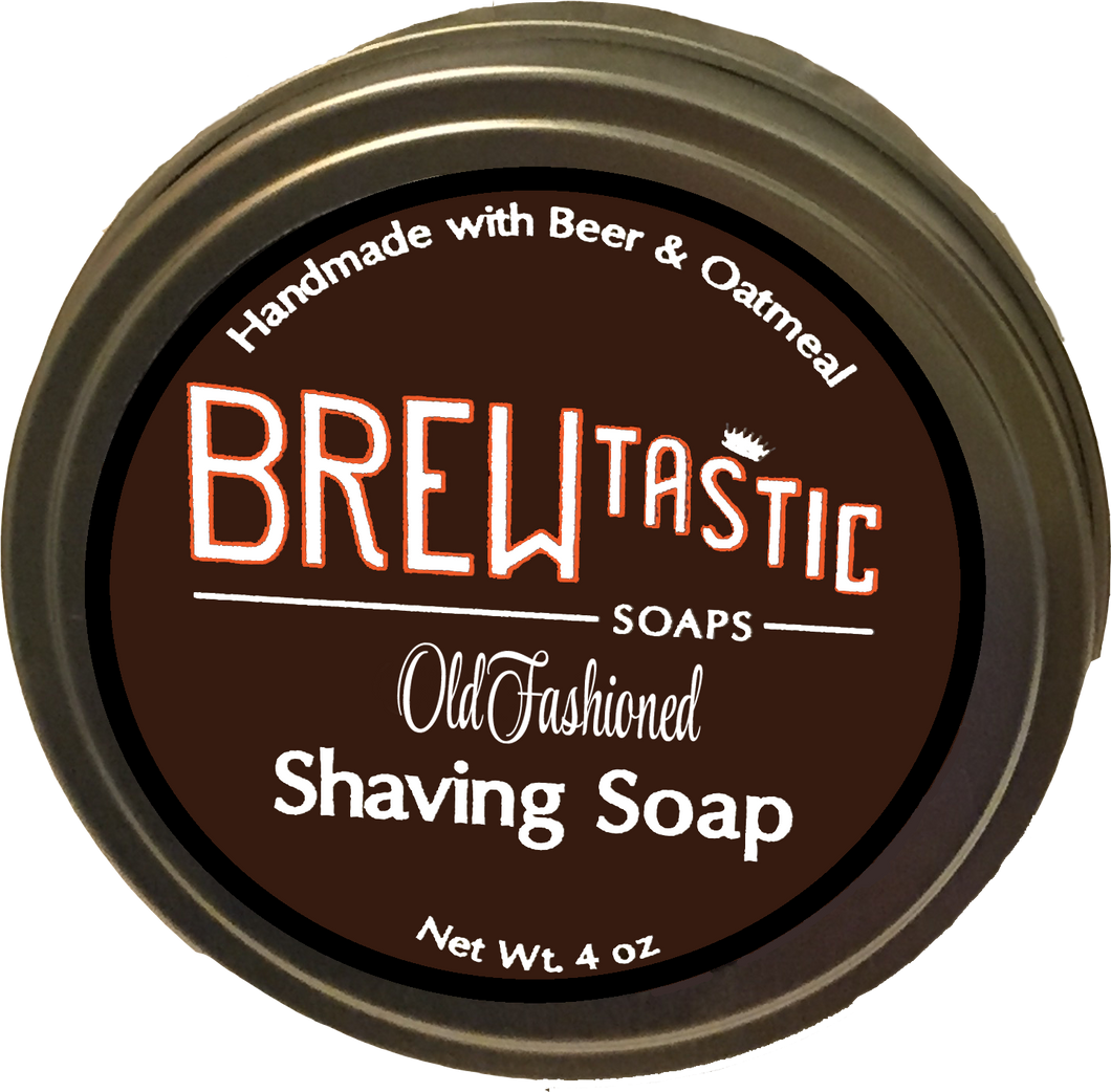 Beer & Oatmeal Shaving Soap