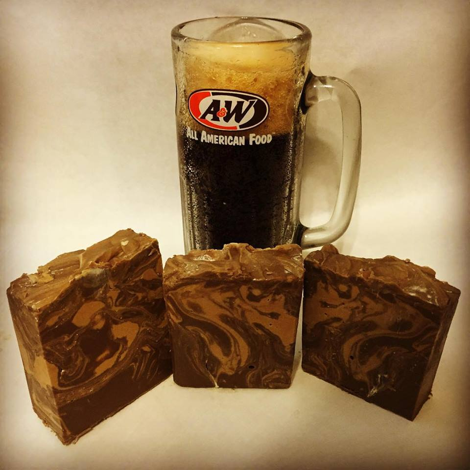 Root Beer Soap