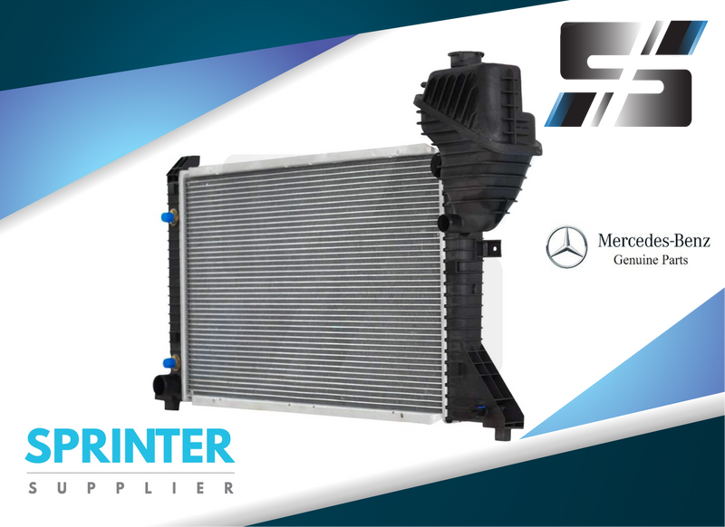 Genuine Mercedes Sprinter Radiator for Mercedes Dodge Freightliner 2002 - 2006