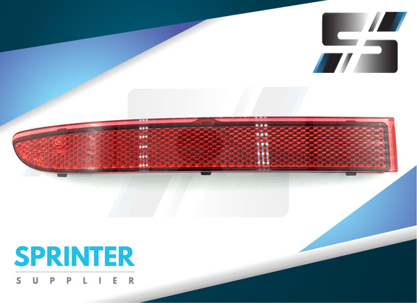Genuine Mercedes Sprinter Driver Side Bumper Reflector 2019 9108204800
