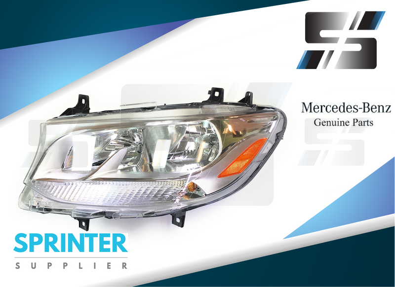 Genuine Mercedes Sprinter Head light Left Driver Side 9109060400