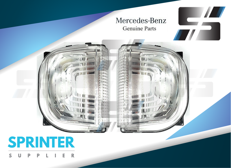 Genuine Mercedes Sprinter Turn Signal Lamp Set 2019 9109064700 / 9109064600