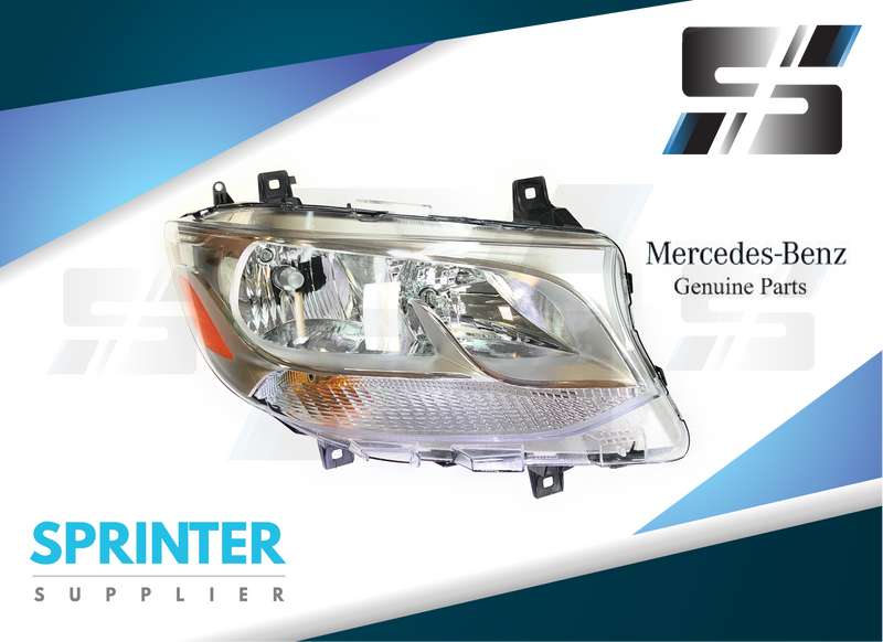 Genuine Sprinter Headlight RIGHT Passenger Side for 2019 Mercedes 9109060500
