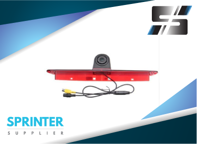 "Mercedes Sprinter Rear Back Up Camera Third Brake  Light with Monitor (7"" Display)"