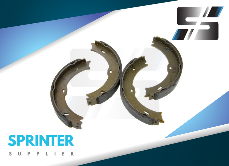 Sprinter Park Brake Shoes Kit for Mercedes Dodge 2007 - 2017 [2500 ONLY]