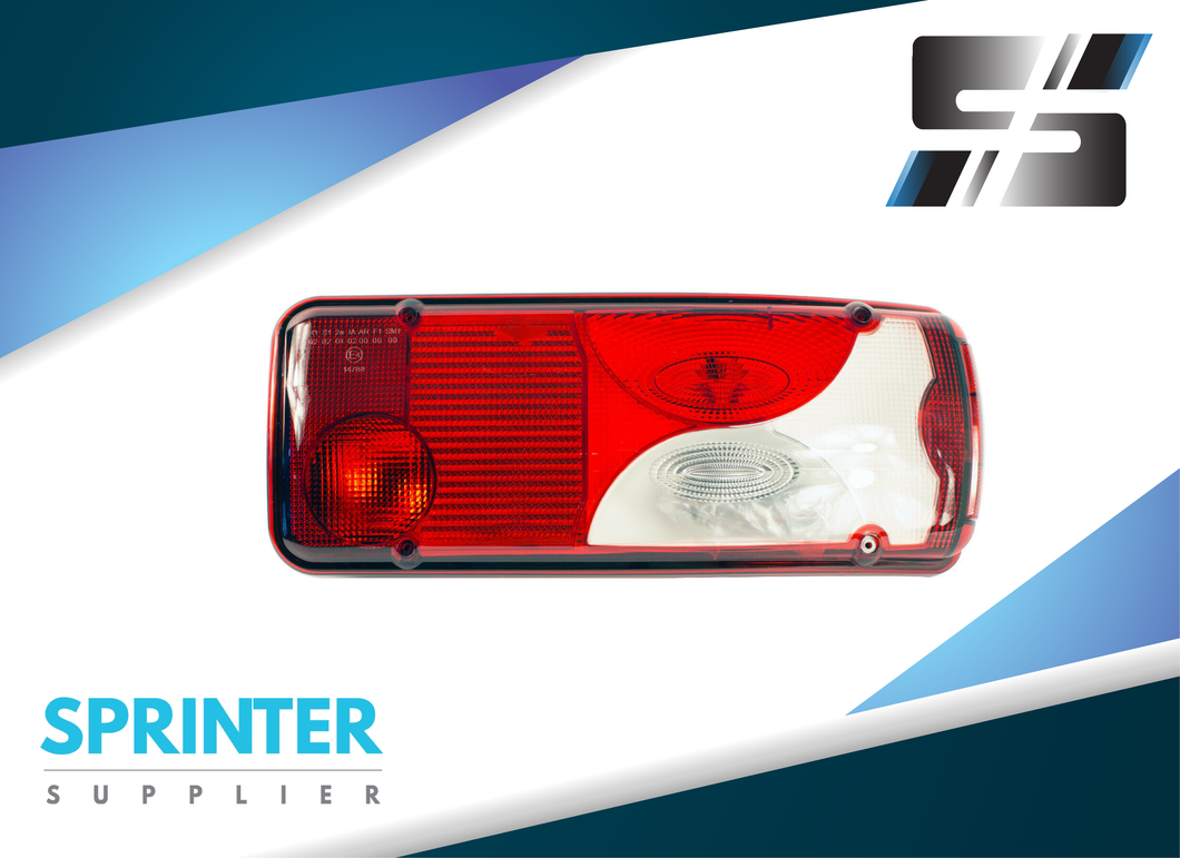Mercedes Sprinter Flatbed Tail Light Right Assembly 2007+ 3500 | OEM: 9068201764
