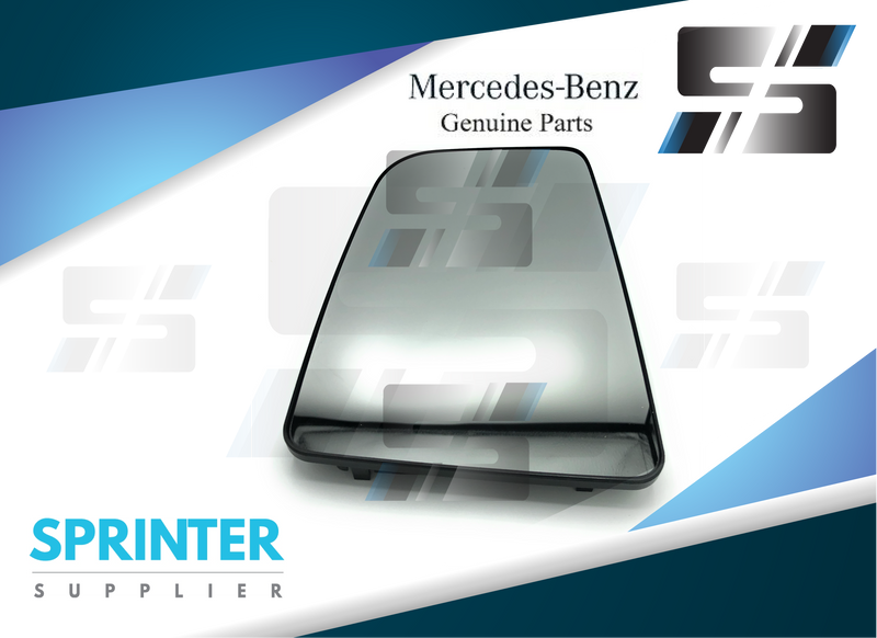 Genuine Mercedes Sprinter Driver Side Mirror Glass 2019 9108113300