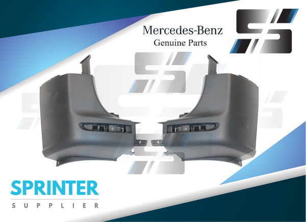 Genuine Mercedes Sprinter Corner Bumper Pair 2019 9078853600 / 90788535009K8