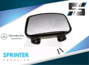 Genuine Sprinter Blind Spot Mirror Passenger Right for 1995 - 2006 9018101193