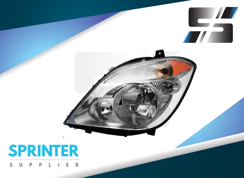 Sprinter Headlight Pair RH+LH fits Mercedes Dodge Freightliner Vans from 2007-2014
