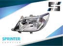 Mercedes Sprinter HEADLIGHT Driver Left LH Lamp 2000-2006 9018201461 05124510AA