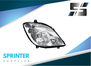 Sprinter HEADLIGHT Right Passenger Side for Mercedes Dodge Vans 2007-2014 9068200261