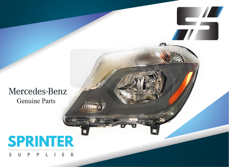 Genuine Mercedes Sprinter Freight liner Driver Side Head Light 2014 - 2018