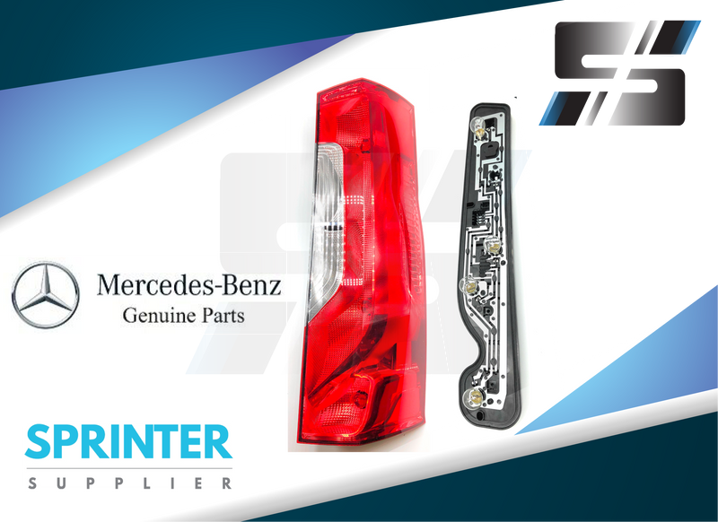 Mercedes Sprinter 2019 Tail Light Assembly [Passenger Side] 2019 9108200100 9108200300