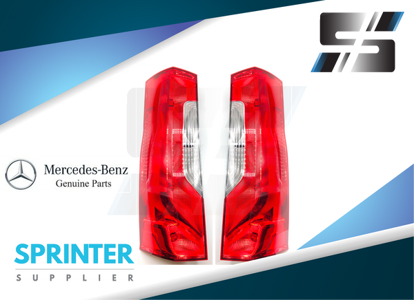 Mercedes Benz Tail Light Assembly for 2019 Sprinter [PAIR] 9108200100 9108200200