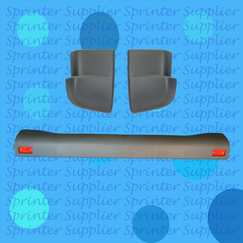Sprinter Rear Bumper+Inner + Corner Bumpers Mercedes Dodge 2000-2006 A9018800571