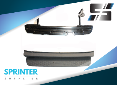 Mercedes Sprinter Rear Step Bumper Cover and Metal Inner 2007-2017 9068800571