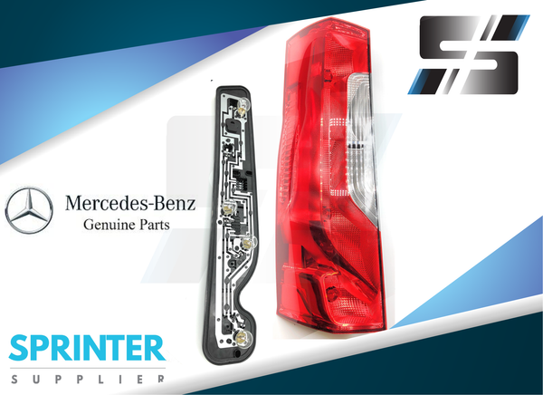 Genuine Mercedes Sprinter Tail Light Assembly [Driver Side] 2019 9108200200