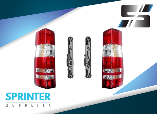 Sprinter Tail Lights for Mercedes Dodge w/Sockets Circuit Boards 2007 - 2017