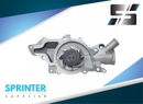 Mercedes Dodge Sprinter Water Pump 2004-2006 2.7L TDI | OEM: 6472000101 05138057AA