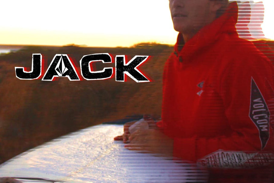 Welcoming Jack Robinson to the Volcom Family