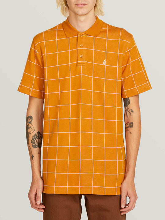 Polo Wowzer Plaid - Camel