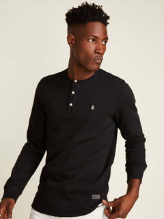 Camiseta Layer Stone  - Black