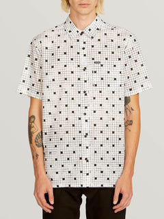 Camisa Crossed Up - White