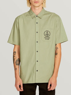 Camisa Crowd Control - Dusty Green