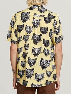 Camisa Ozzie Cat - Lime