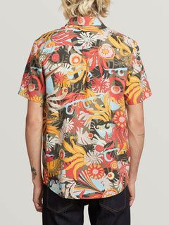 Camisa Psych Floral - Army