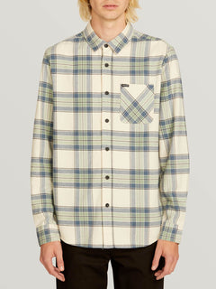 Camisa Caden Plaid - Off White