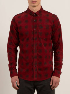 Camisa De Pana Maxwell L/S - True Red