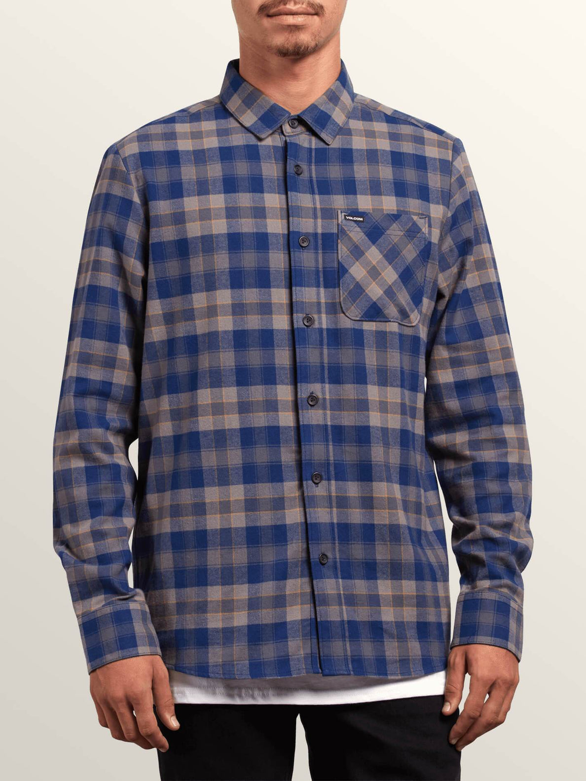 Camisa Caden Plaid  - Matured Blue