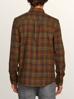 Camiseta Lumberg L/S Flannel - Vineyard Green
