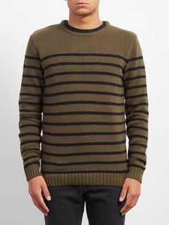 Sudadera Edmonder Striped - Military