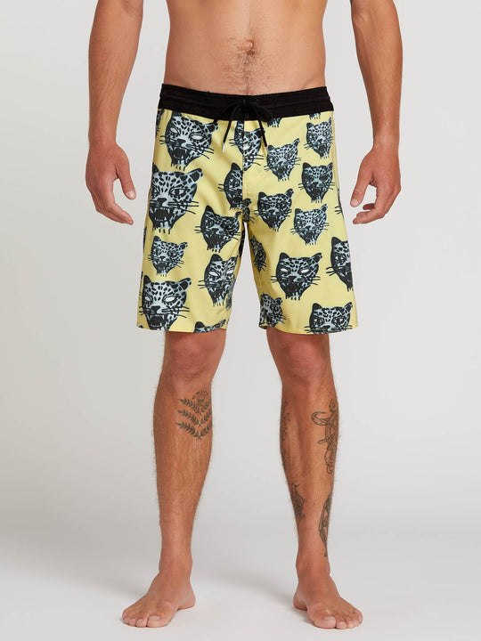 "Boardshorts Ozzie Stoney 19"" - Lime"