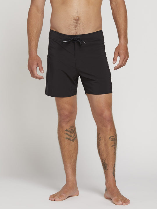 "Boardshorts Lido Solid Mod 16"" - Black"