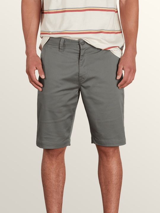 Short Frckn Mdn Strch - Dusty Green