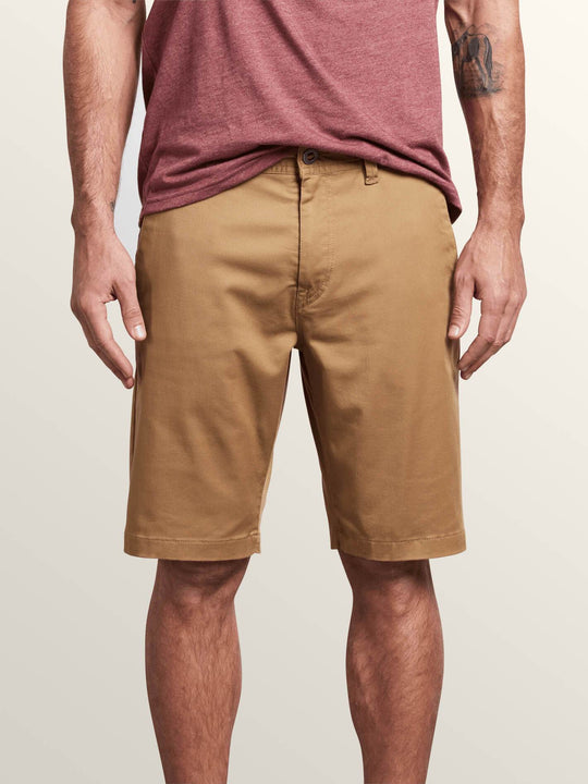 Short Frckn Mdn Strch - Dark Khaki