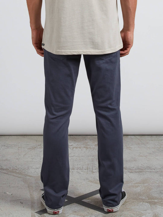 Pantalones Vorta 5 Pocket Slub - Midnight Blue